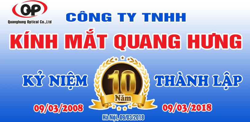 Kỷ niệm 10 năm Thành Lập